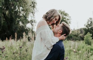 本気で恋愛をする男性と女性のカップル